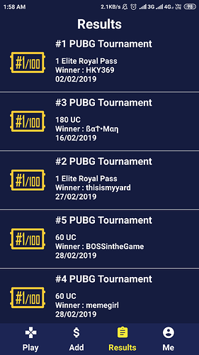 Playerzon PUBG Tournament App aia file with Admin Panel - Koded Apps