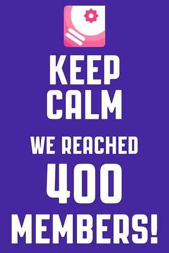 400members