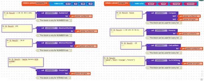 FREE] ListAddon Extension - Extensions - Kodular Community