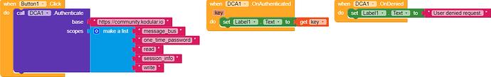 DCA Example
