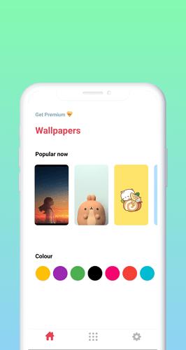 1 st screenshoot of wallpapetr
