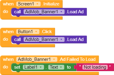 Admob Ads not getting displayed (even test ads) - Feedback