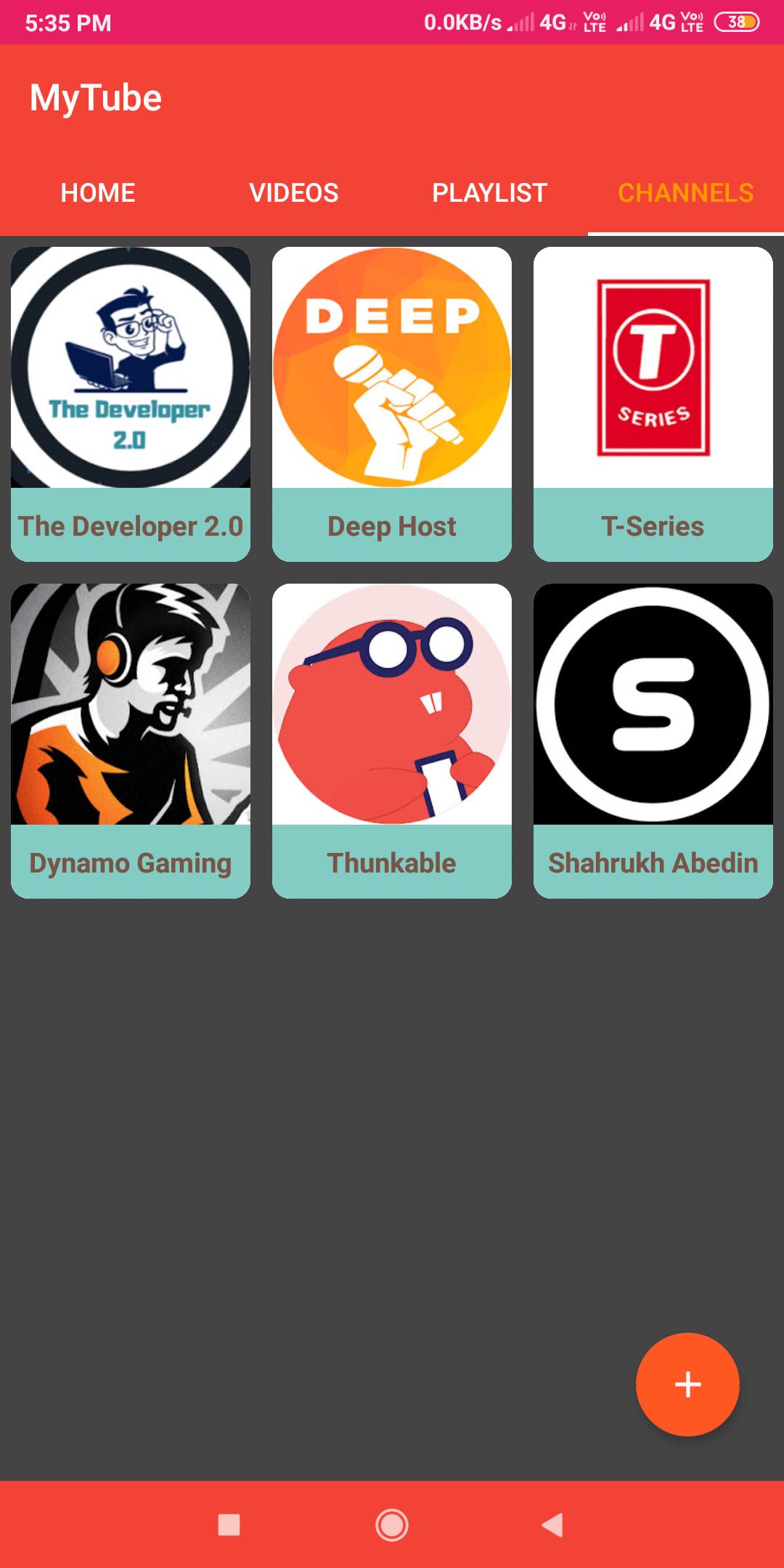 MyTube App with admin panel ( Beta Version ) - Koded Apps - Kodular