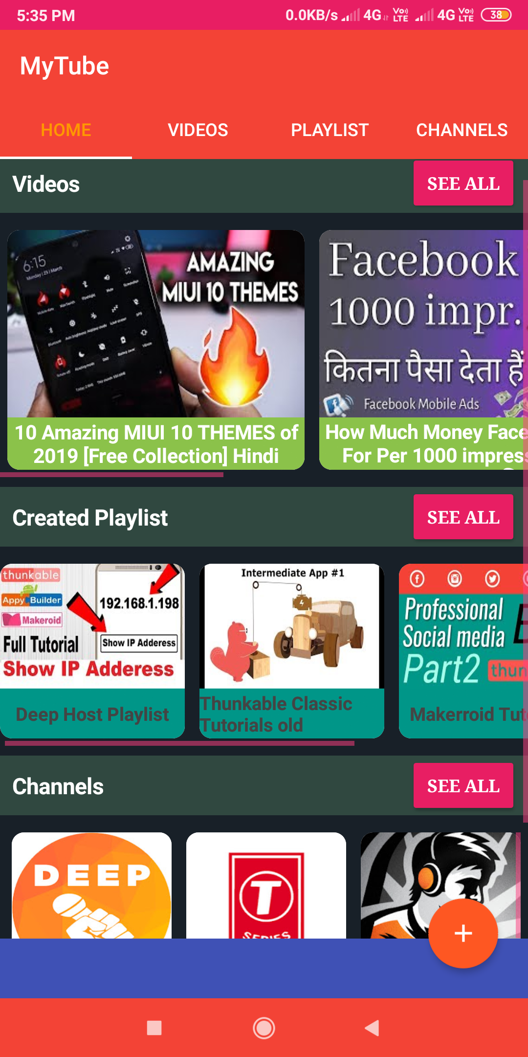 MyTube App with admin panel ( Beta Version ) - Koded Apps