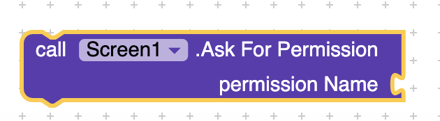 How to programmatically open the Permission Screen for a