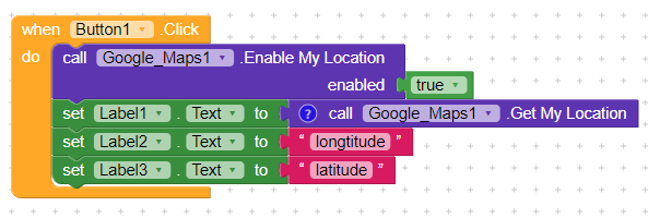 Get My Location And Display Longtitude And Latitude In Separate