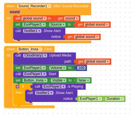 sound player kodular