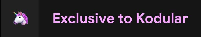 Kodular Exclusive New