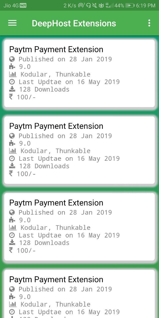 DeepHost Extensions Clone App Made From Kodular - Discuss - Kodular
